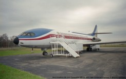 28 Sud-Aviation SE 210 Caravelle VIR ex N907MW Airborne Express © Michel Anciaux