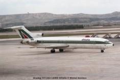 28Boeing 727-243 I-DIRB Alitalia © Michel Anciaux