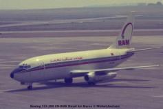 33 Boeing 737-2B6 CN-RMK Royal Air Maroc © Michel Anciaux
