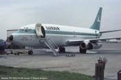 42 Boeing 737-2C9 LX-LGI Luxair © Michel Anciaux
