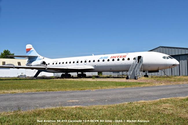 DSC_0090 Sud Aviation SE-210 Caravelle 12 F-GCVK Air Inter - IAAG © Michel Anciaux