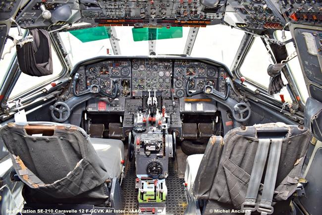 DSC_0091 Sud Aviation SE-210 Caravelle 12 F-GCVK Air Inter - IAAG © Michel Anciaux