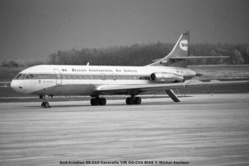 img513 Sud-Aviation SE-210 Caravelle VIR OO-CVA BIAS © Michel Anciaux