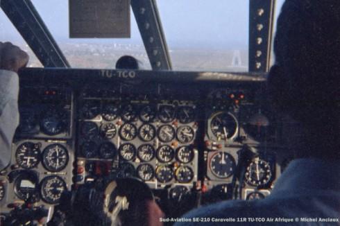 img54 Sud-Aviation SE-210 Caravelle 11R TU-TCO Air Afrique © Michel Anciaux