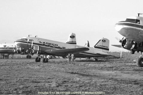img633 Douglas C-47-DL CC-CAO LADECO © Michel Anciaux