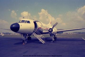 img720 Convair 440 OO-VGT Delta Air Transport © Michel Anciaux