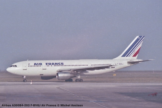 img725 Airbus A300B4-203 F-BVGJ Air France © Michel Anciaux