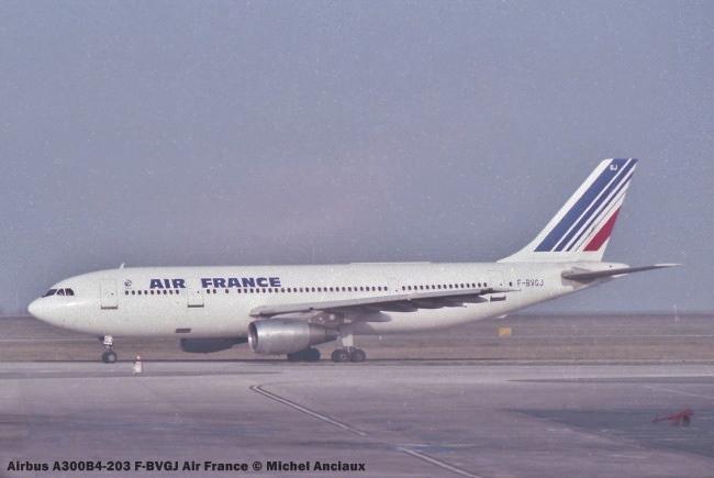 img725 Airbus A300B4-203 F-BVGJ Air France © Michel Anciaux