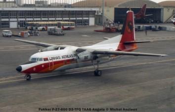 img935 Fokker F-27-600 D2-TFQ TAAG Angola © Michel Anciaux