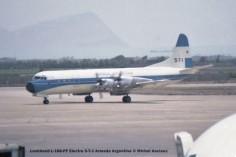002 Lockheed L-188-PF Electra 5-T-1 Armada Argentina © Michel Anciaux