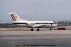 02 Fokker F-28-1000 ''390'' Fiuerza Aerea del Peru © Michel Anciaux