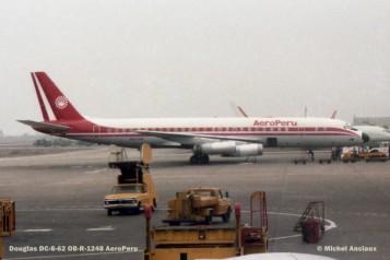 021 Douglas DC-8-62 OB-R-1248 AeroPeru © Michel Anciaux