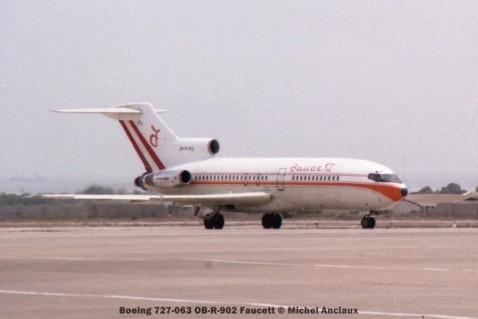 06 Boeing 727-063 OB-R-902 Faucett © Michel Anciaux
