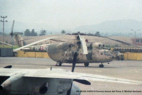 06 Mil Mi-6A FAP679 Fuerza Aerea del Peru © Michel Anciaux