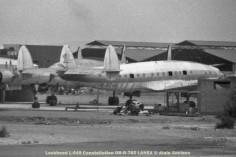 08 Lockheed L-649 Constellation OB-R-785 LANSA © Alain Anciaux