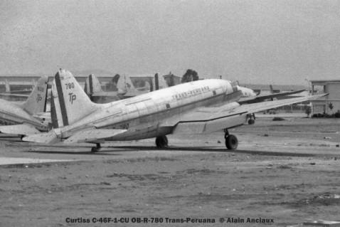 10 Curtiss C-46F-1-CU OB-R-780 Trans-Peruana © Alain Anciaux
