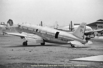 11 Curtiss C-46D-5-CU OB-R-806 Trans-Peruana © Alain Anciaux