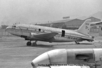 12 Curtiss C-46D-5-CU OB-R-806 Trans-Peruana
