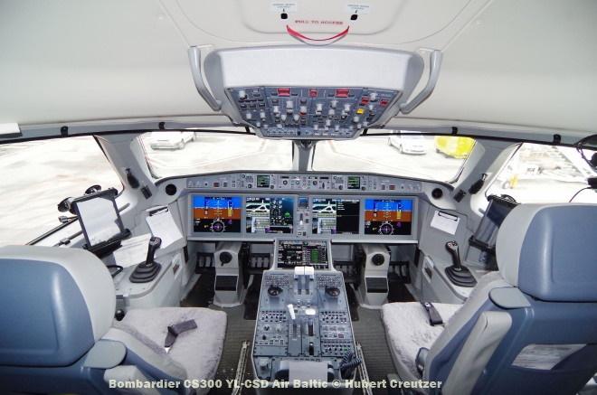 IMGP1730 Bombardier CS300 YL-CSD Air Baltic © Hubert Creutzer