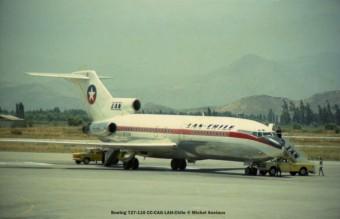 003 Boeing 727-116 CC-CAG LAN-Chile © Michel Anciaux