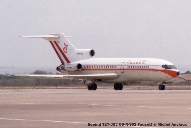 004 Boeing 727-063 OB-R-902 Faucett © Michel Anciaux