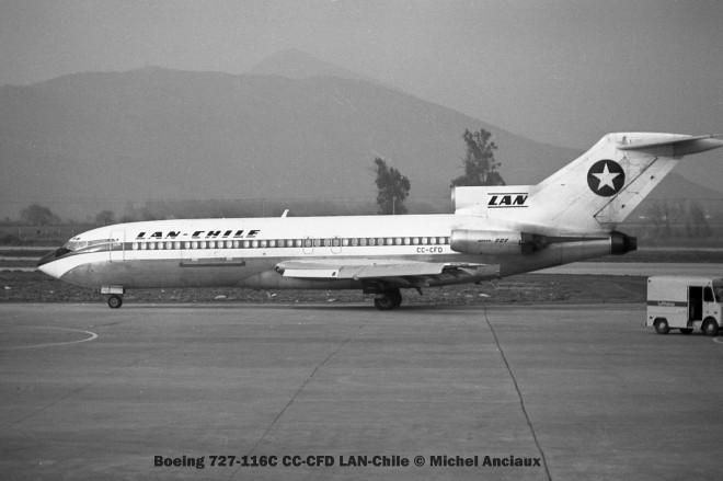 005 Boeing 727-116C CC-CFD LAN-Chile © Michel Anciaux