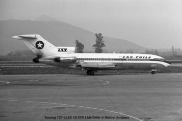 008 Boeing 727-116C CC-CFE LAN-Chile © Michel Anciaux