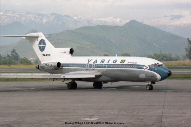 011 Boeing 727-41 PP-VLH VARIG © Michel Anciaux