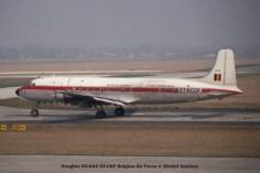 02 Douglas DC-6AC OT-CDF Belgian Air Force © Michel Anciaux