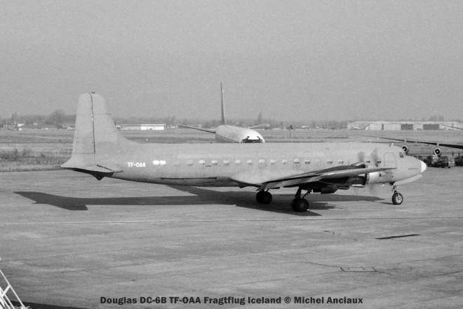 10 Douglas DC_6B TF-OAA Fragtflug © Michel Anciaux