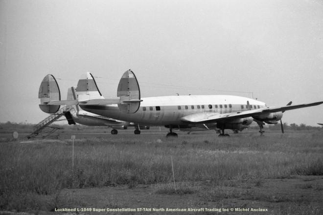 11 Lockheed L-1049 Super Constellation 5T-TAH North American Aircraft Trading Inc © Michel Anciaux