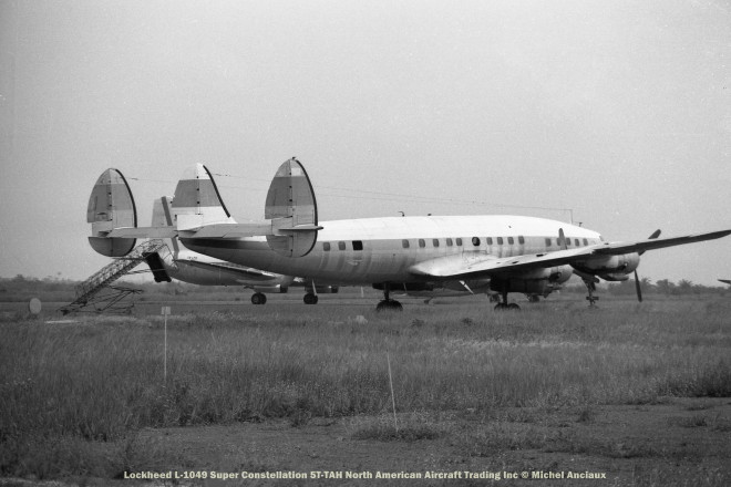 11 Lockheed L-1049 Super Constellation 5T-TAH North American Aircraft Trading Inc © Michel Anciaux