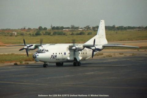 12 Antonov An-12B RA-12972 United Nations © Michel Anciaux
