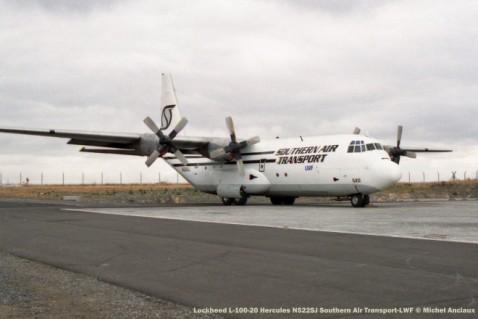 22 Lockheed L-100-20 Hercules N522SJ Southern Air Transport-LWF © Michel Anciaux
