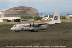 24 Lockheed L-100-20 Hercules N522SJ Southern Air Transport-LWF © Michel Anciaux