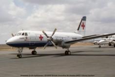 42 Grumman G-159 Gulfstream I ZS-NHW Rossair Executive Air Charter-CICR © Michel Anciaux