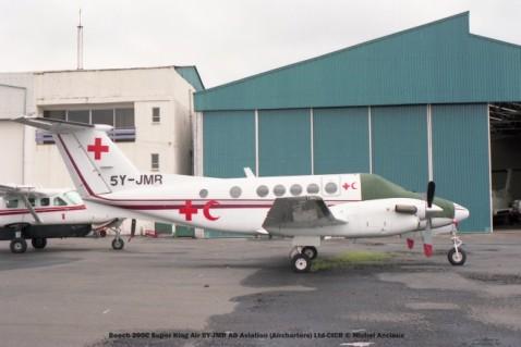 43 Beech 200C Super King Air 5Y-JMR AD Aviation (Aircharters) Ltd-CICR © Michel Anciaux