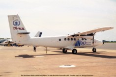 46 De Havilland DHC-6-300 Twin Otter ZS-NJK Rossair Executive Air Charter- WFP © Michel Anciaux