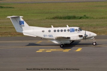 48 Beech 200 King Air 5Y-SEL United Nations © Michel Anciaux