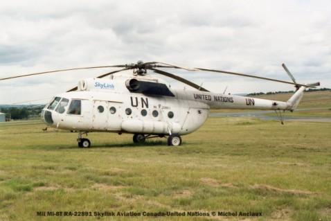 49 Mil Mi-8T RA-22891 Skylink Aviation Canada-United Nations © Michel Anciaux