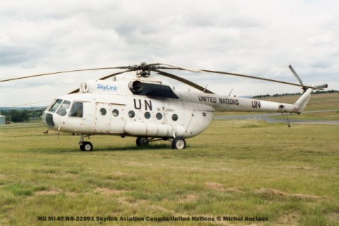49 Mil Mi-8T RA-22891 Skylink Aviation Canada-United Nations © Michel Anciaux