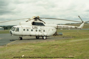 52 Mil Mi-8T RA-24171 Skylink Aviation Canada-United Nations © Michel Anciaux