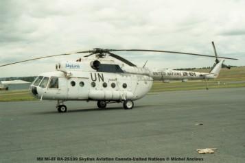 53 Mil Mi-8T RA-25139 Skylink Aviation Canada-United Nations © Michel Anciaux
