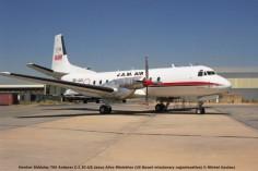 55 Hawker Siddeley 780 Andover C.1 3C-JJX Jesus Alive Ministries (US Based missionary organiosation) © Michel Anciaux