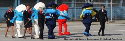 DSC_2005 Brussels Airlines - Aerosmurf © Hubert Creutzer