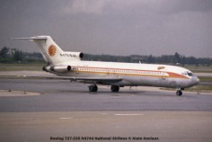 img080 Boeing 727-235 N4744 National Airlines © Alain Anciaux