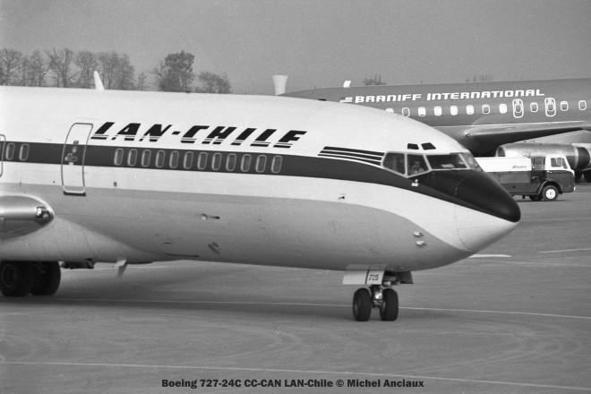 img082 Boeing 727-24C CC-CAN LAN-Chile © Michel Anciaux
