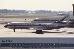 img083 Sud Aviation SE 210 Caravelle III F-BJTQ Air France © Alain Anciaux