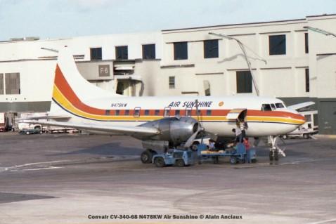 img103 Convair CV-340-68 N478KW Air Sunshine © Alain Anciaux