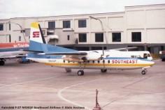 img105 Fairchild F-27 N4302F Southeast Airlines © Alain Anciaux